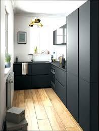 cuisine noir mat et bois cuisine noir mat et bois cuisine mat cuisine mat plan travail with