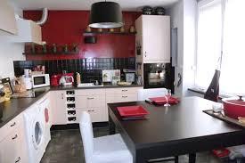 deco cuisine noir cuisine blanc et noir dco cuisine blanc et le de zabelle