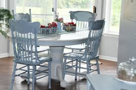 How To Paint Your Table  Chairs Pat McDonnell Paints - Painting kitchen table