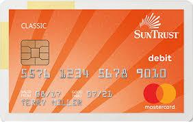 debt cards mastercard debit cards suntrust personal banking
