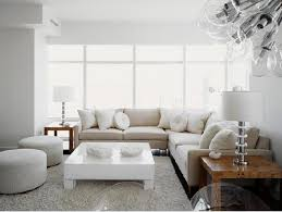 White Table For Living Room Lacquered Coffee Table Contemporary Living Room