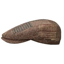 Patchwork Cap - stetson belfast patchwork cap made in italy hats