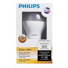 philips 429381 10 5 watt 60 watt equivalent 800 lumens 3000k a19