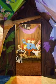 interior fancy boy bedroom decoration with blue lego batman