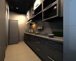 kitchen design grid home design modern galley kitchen design with grey kitchen cabinet with glass doors also marble countertop and modern
