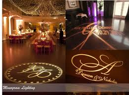 wedding backdrop initials monogram lighting bespoke wedding sound lighting