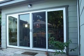 4 Panel Sliding Patio Doors 4 Panel Sliding Glass Door Closed Yelp A Frame Ideas