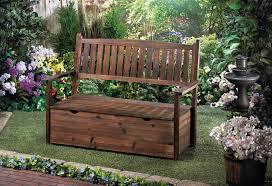 Garden Storage Bench Wooden Garden Grove Storage Bench Wholesale At Koehler Home Decor