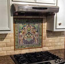 backsplash mural tiles for kitchen kitchen astounding kitchen