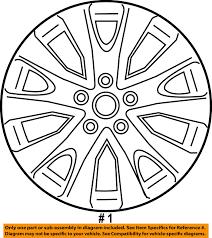 subaru legacy oem wheels 2015 2016 subaru legacy oem factory 28111al00a original silver