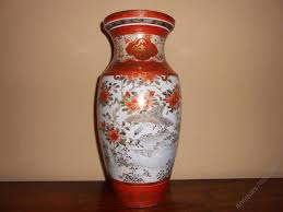 Japanese Kutani Vases Antiques Atlas Beautiful Japanese Kutani Vase Meiji Period