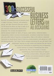 Business Letter Writing Guide Pdf 300 successful business letters for all occasions barron s 300