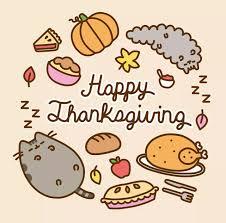 pusheen thanksgiving thanksgiving fall pusheen and