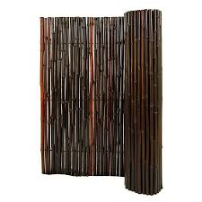 shop backyard x scapes 96 in w x 72 in h mahogany bamboo outdoor