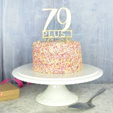 80th birthday cake topper by pink and turquoise