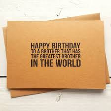 funny birthday card personalised cards brother birthday