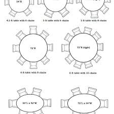 5 foot round table 6 foot round table seating round designs