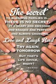 wedding quotes joining families secrets to a blended family autie and i do our best and our best