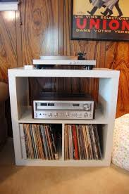 record player table ikea turntable shelf ikea ikea hack record player stand nouvelle daily