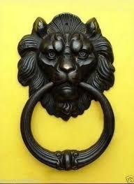 online buy wholesale bronze lion head door knocker from china