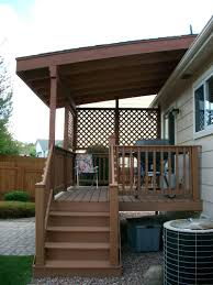 rooftop deck house plans images about build a standing deck and backyard with roof design