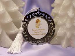 baptism ornament favors baptism christening gifts photo party metal bookmarks ornaments