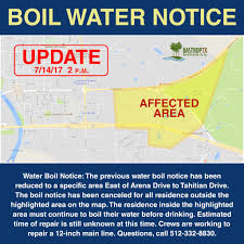 Bastrop State Park Map Boil Water Order Reduced To Specific Parts Of The City Of Bastrop