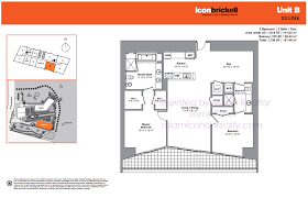 Icon Floor Plan by Icon Brickell Tower 2 Condos In Miami 495 Brickell Avenue Miami