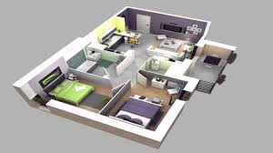one floor house design plans 3d youtube