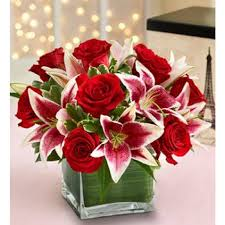 Flowers Com Coupon Rose And Lily Cube Local Mesa Florist Flower Arrangements