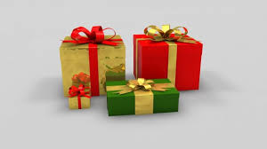 christmas boxes christmas gift boxes 3d model c4d