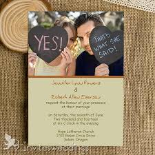 photo wedding invitations affordable simple photo wedding invitations iwi318 wedding