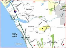 california map carlsbad road map of carlsbad oceanside san diego california