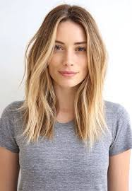 medium length hairstyles for hair parted in middle with bangs medium length hair 1long layers with centre part ykbvupl hair styles