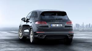 porsche stinger price 2017 porsche cayenne platinum pricing and specifications photos