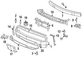 dodge challenger bumper parts com dodge fascia front partnumber 68258730ab