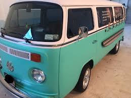 1974 volkswagen bus 1974 vw bus van with 6 keg taps on the side runs mint used