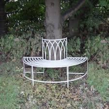 shabby chic gothic tree seat garden benches savvysurf co uk