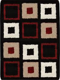 7x10 Area Rug Modern Abstract Shag 7x10 Area Rug Contemporary Shaggy Carpet