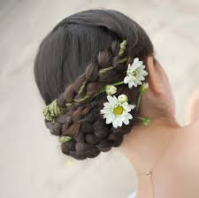 flower decoration for hair wedding hair flower plaits decoration wedding