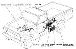1986 toyota pickup fuel system operation u0026 or schematic