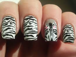 simple but attractive animal nail art design 2015