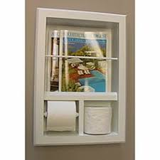 overstock recessed in the wall magazine rack with u0027mega u0027 toilet