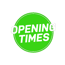 blast opening times