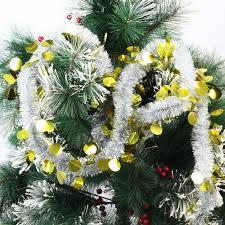 christmas ribbon tree hanging ornaments xmas round ball ribbon