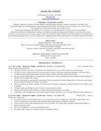 Resume For Substance Abuse Counselor Julia Catlin Mental Health Resume 2016