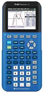 calculatrice graphique bureau en gros instruments ti 83 premium ce bleue calculatrice graphique