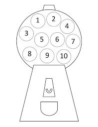 preschool numbers clipart number 1 with dot bbcpersian7 collections