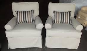 slipcovered swivel chair barnett furniture rowe furniture or iislipcover