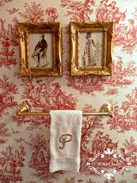 Powder Room Clothing Be Book Bound Pride And Prejudice A Toile Powder Room